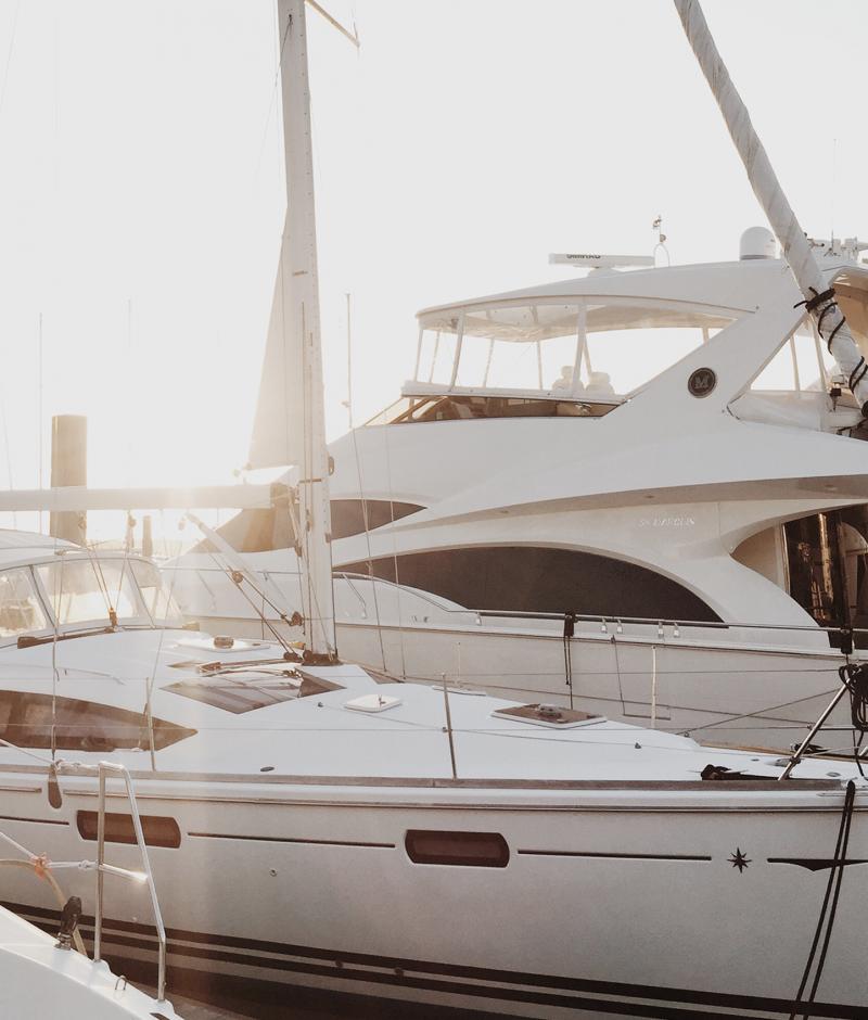 Sailwell aanwezig in meer havens